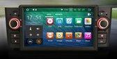 """Voltario® 7 """" Autoradio voor Fiat, inclusief navigatie, bluetooth, DVD en Octa core. Systeem Android 8.0 Fiat punto 2005-2009 Linea 2007-2011"""