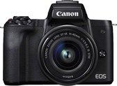 Canon EOS M50 + EF-M 15-45mm - inclusief cameratas
