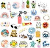 Kraagjeskopen.nl® 35 stuks VSCO Girls Stickers - Stickervellen Watervast voor Meisjes Jongens Kinderen - Cadeau Sinterklaas Kerst - VSCO Girl Producten - variatie 1