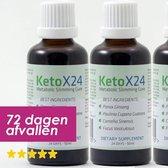 KetoX24 Afslanksupplement - 3 x 24 Dagen