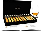 Tasting Collection Whisky Proeverij - 12 tubes - in luxe Geschenkdoos