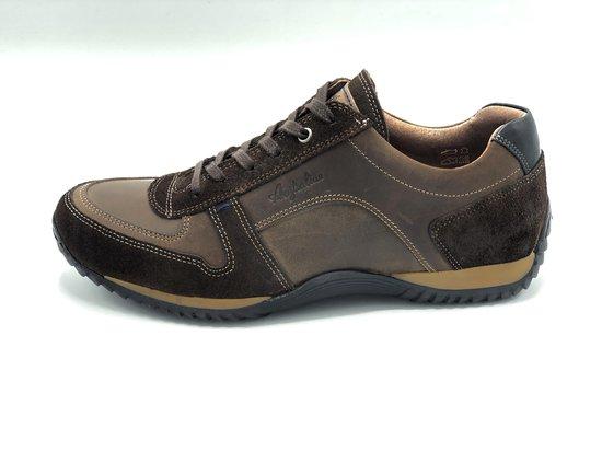 Australian Footwear Heren Sneakers Barclay Tan Leer - Tan - maat 45