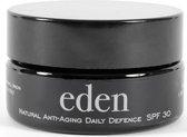 Eden Natural Anti-Aging Daily Defence crème - Natuurlijke ingredienten - SPF 30