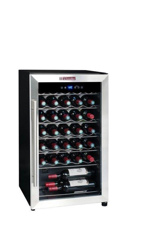 Koelkast: La Sommelière LS34A - Wijnklimaatkast - Monotemperatuur, 34 flessen, 7 legplanken, Energieklasse A, van het merk La Sommelière