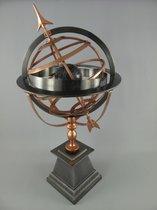MadDeco - schitterende - zonnewijzer - 48x40x105 (lxbxh)metaal