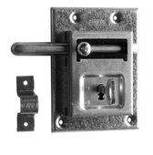 Nemef opleg grendelslot 98/12 - Met sluitbeugel - Met 2 sleutels