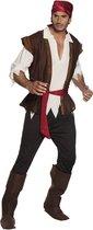 Piraat Thunder - Kostuum - Maat 50/52 - Carnavalskleding
