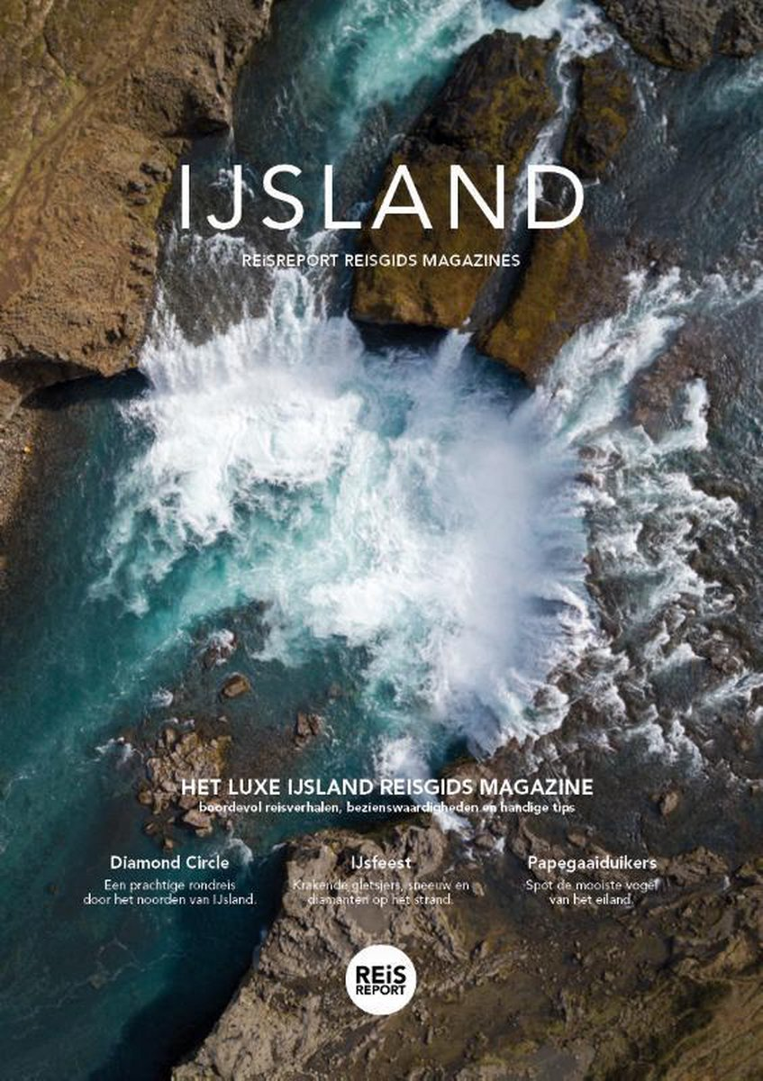 IJsland reisgids magazine - luxe uitgave - IJsland reisgids vol bezienswaardigheden, foto's, reisver
