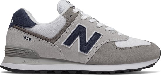 New Balance ML574 D Heren Sneakers - Grey/White - Maat 45.5