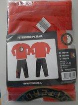 Feyenoord pyjama maat 164/170 164-170 100% katoen
