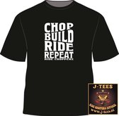 Ride Choppers Chop, Build, Ride Repeat -M