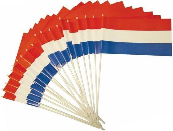 Haza Original Zwaaivlag Nederland 20 X 30 Cm Rood/wit/blauw