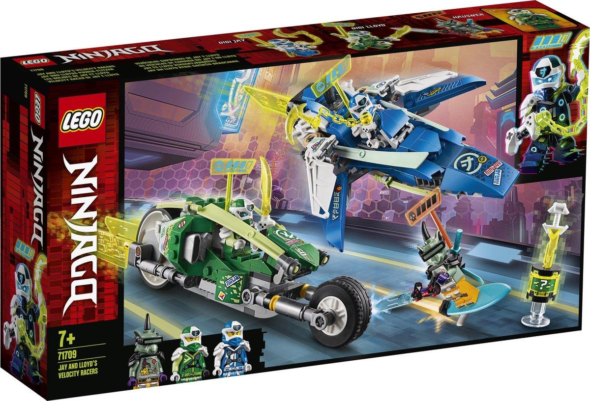 71709 Lego Ninjago Jay en Lloyds Supersnelle Racers