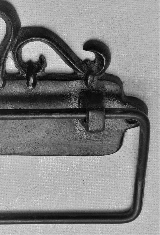 Kom Amsterdam,Toiletrolhouder hangend Antiek Finish