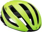 BBB Cycling Fietshelm Maestro Unisex Racefiets - Glanzend Neon Geel Maat L - BHE-09