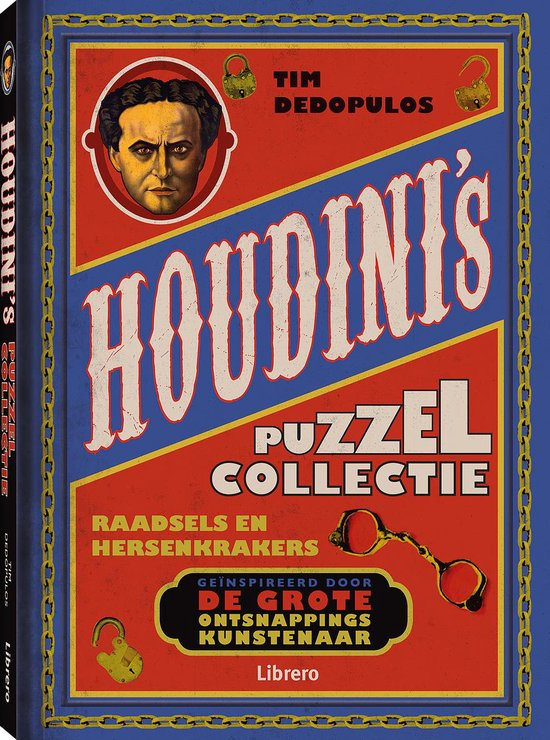 Boek cover Houdini's puzzelcollectie van Tim Dedopulos (Hardcover)