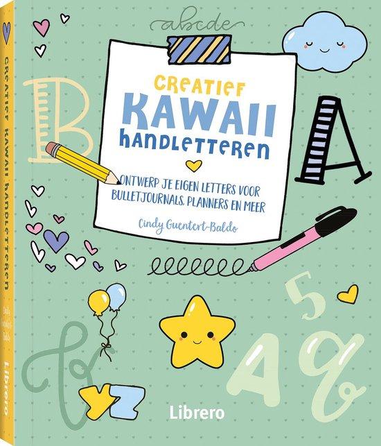 Creatief Kawaii handletteren - Cindy Cuentert-Baldo |