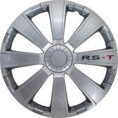 Autostyle Wieldoppen 14 inch RS-T Zilver - ABS
