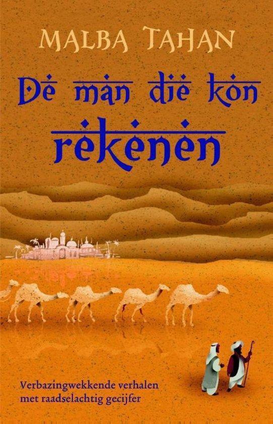 Cover van het boek 'De man die kon rekenen' van Malba Tahan