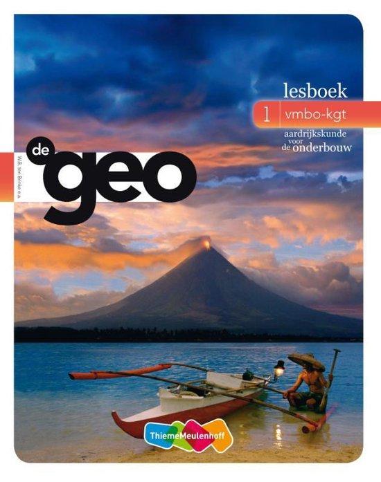 De Geo / 1 VMBO-KGT / deel lesboek - none  