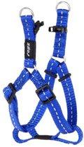 Rogz For Dogs Fanbelt Step-In Blauw 20 mmx53-76 cm
