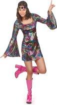 LUCIDA - Disco kostuum voor vrouwen - M/L - Volwassenen kostuums