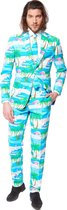 OppoSuits Flaminguy - Mannen Zomer Kostuum - Gekleurd - Carnaval - Maat 50
