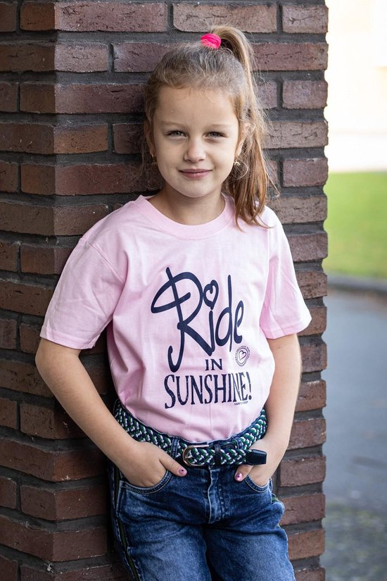Harry's Horse T-shirt Quote kids roze