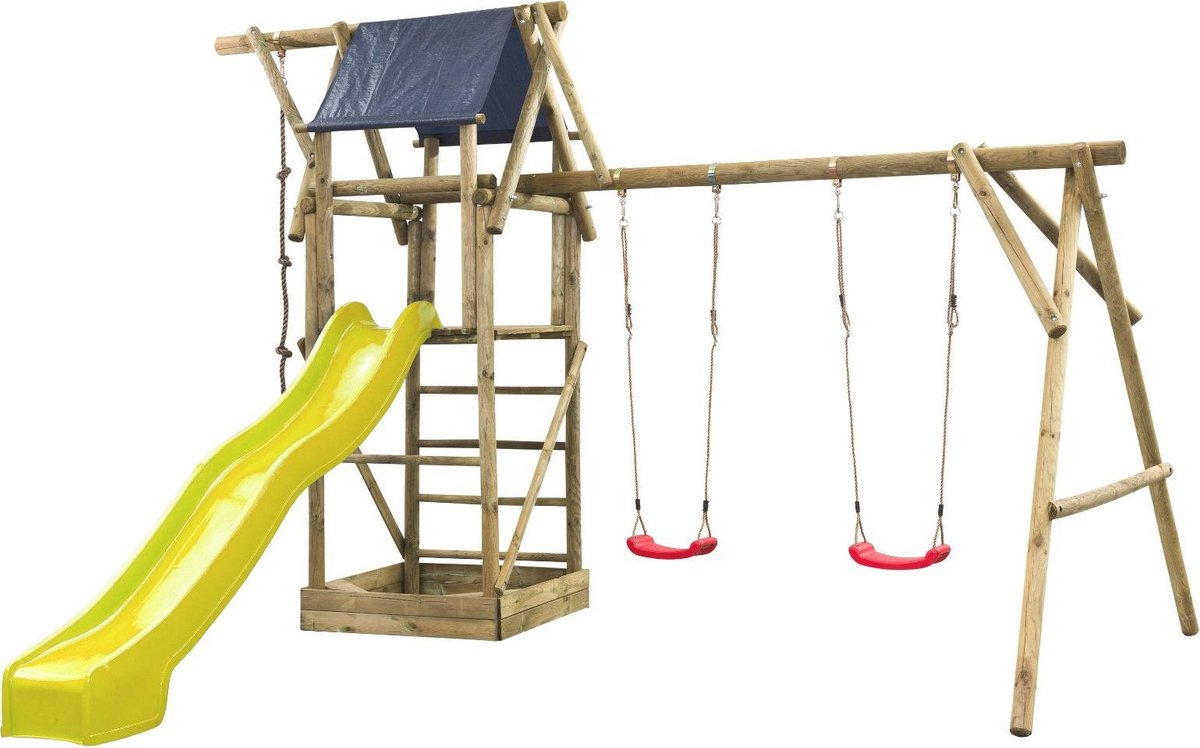 Intergard Houten speeltoestel Nelis 380x500x290cm