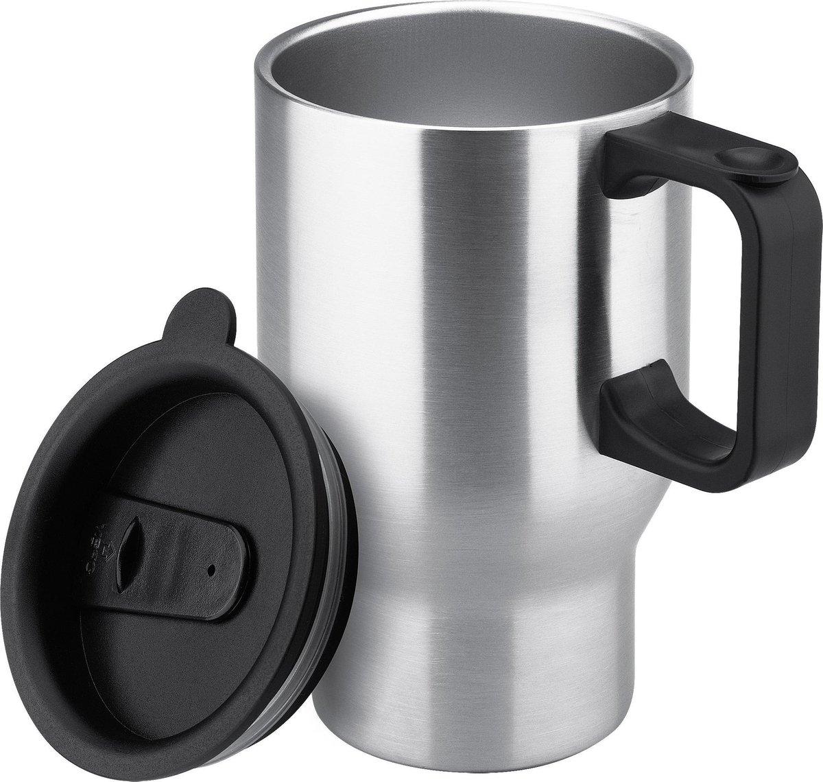 Isosteel Thermosbeker Rvs 0,4 Liter Zilver