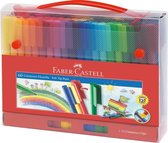 Faber-Castell Connector Viltstiften koffer 60 stuks
