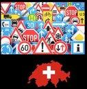 Verkehrsregeln und Zeichen Schweiz