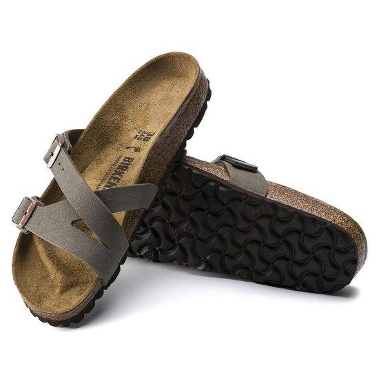 Birkenstock Yao Stone narrow Dames Slippers – maat 38 DfvAiEdt