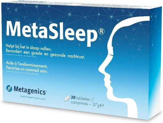 Metagenics MetaSleep - 30 tabletten