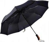 Luxe Stormparaplu – Opvouwbaar & Windproof - Zwart- Ø 100 cm