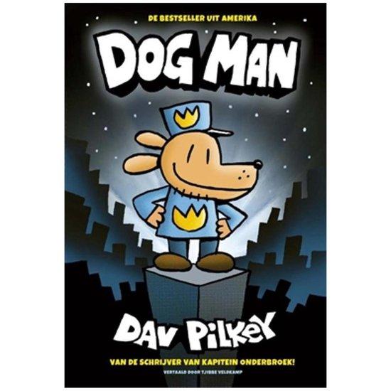 Boek cover Dog Man 1 - Dog Man van Dav Pilkey (Hardcover)