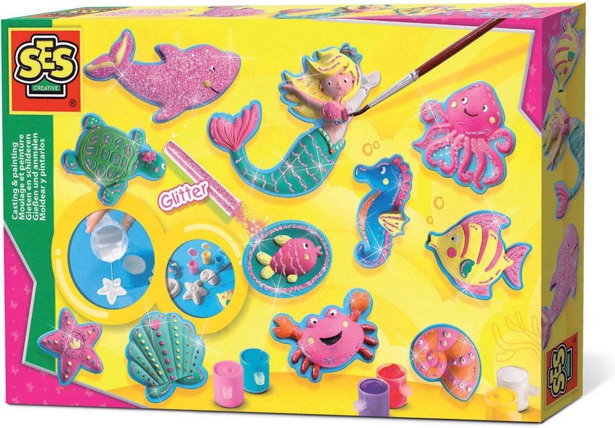 SES Figuren Gieten en Schilderen Oceaanfiguren