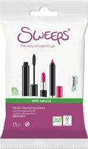 Sweeps facial cleansing wipe
