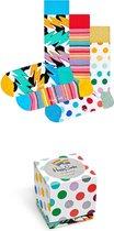 Happy Socks Volwassenen Unisex Sokken - Maat 41-46