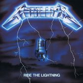 CD cover van Ride The Lightning van Metallica