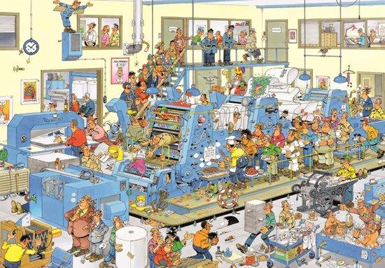 Jan van Haasteren De Drukkerij puzzel - 3000 Stukjes - Jan van Haasteren