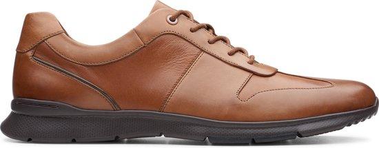 Clarks - Herenschoenen - Un Tynamo Tie - G - tan leather - maat 7,5