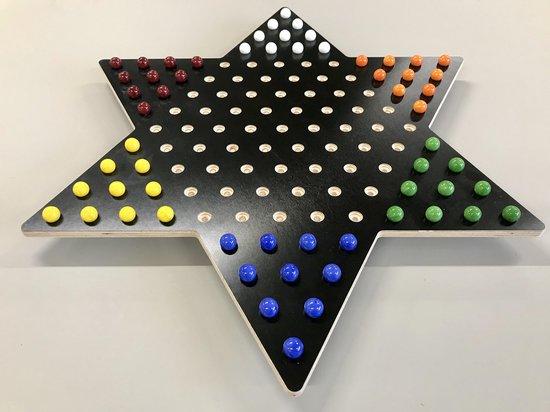 Afbeelding van het spel ster halma