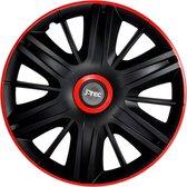J-Tec Wieldoppen 13 inch Maximus zwart/rood