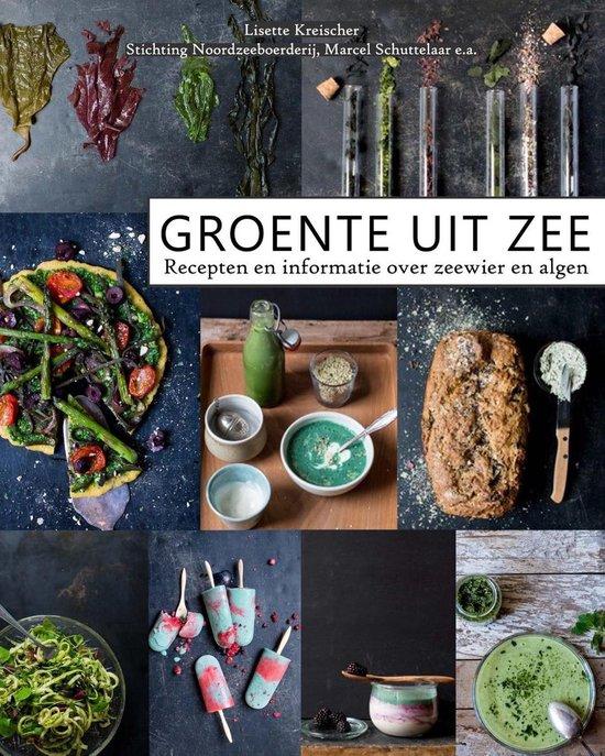 Boek cover Groente uit zee van Lisette Kreischer (Onbekend)