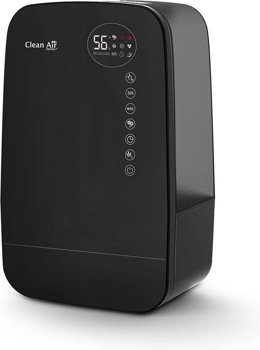 Clean Air Optima® CA-607B – Luchtbevochtiger met Ionisator, UVC-lamp en Aromatherapie