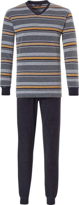 Heren pyjama badstof Pastunette