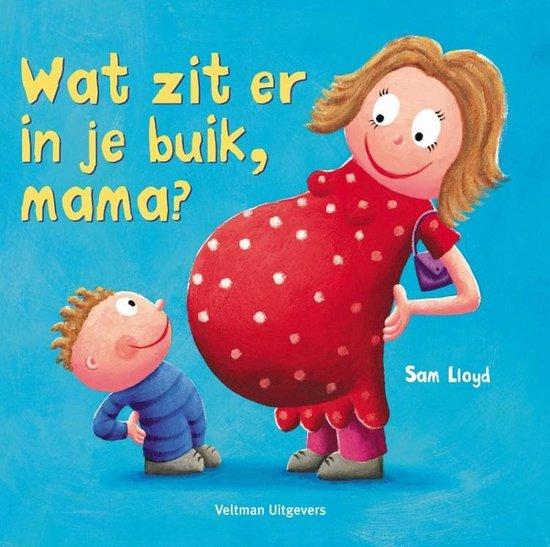 Boek cover Wat zit er in je buik, mama? van S. Lloyd