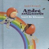 André het astronautje leert de kleuren