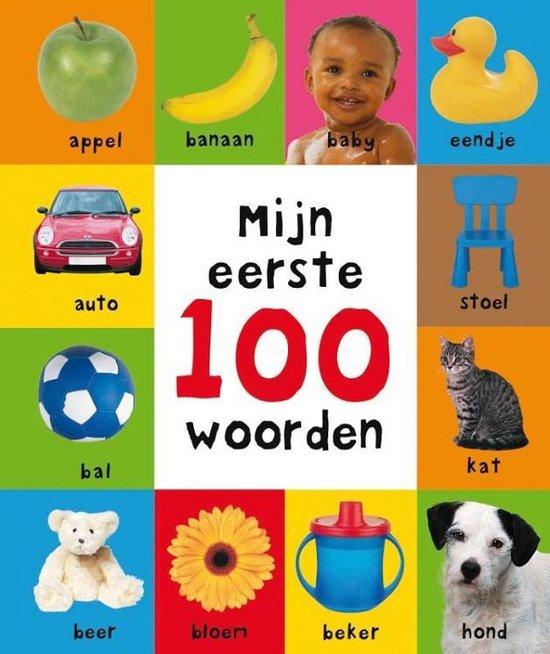 Boek cover Mijn eerste 100  -   Mijn eerste 100 woorden van Roger Priddy (Hardcover)